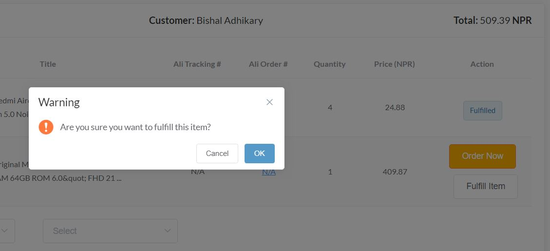Manually Fulfill Shopify orders using SellersDash