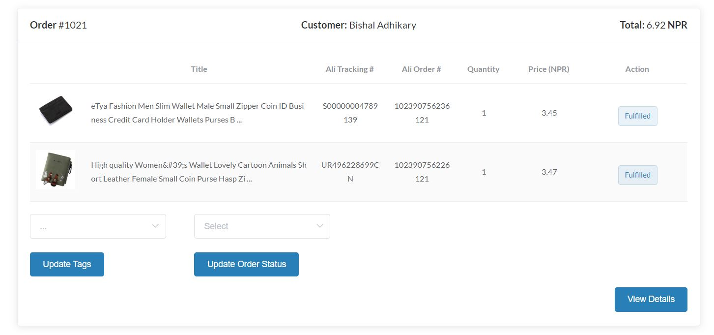Aliexpress Tracking Numbers Syncing With Sellersdash For